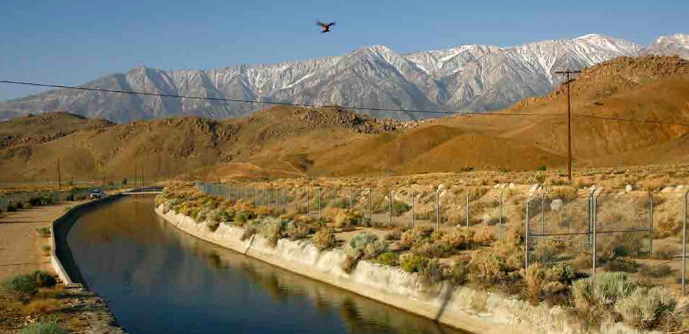 The Los Angeles Aqueduct, Lone Pine, California